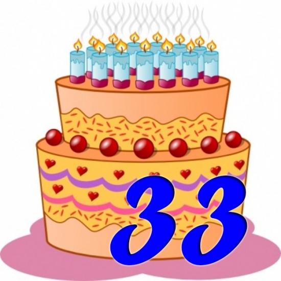 Поздравления с 33 днем рождения сыну